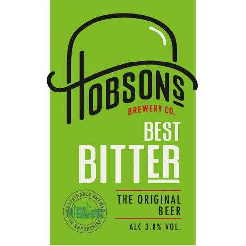 HOBSONS BEST BITTER 10L - DISPATCHED VIA HOBSONS BREWERY