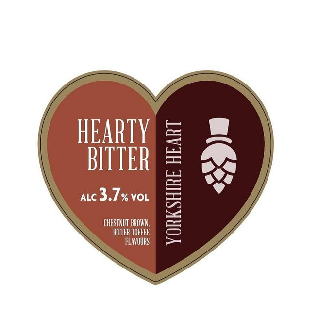 HEARTY BITTER 20L - DIRECT FROM YORKSHIRE HEART BREWERY