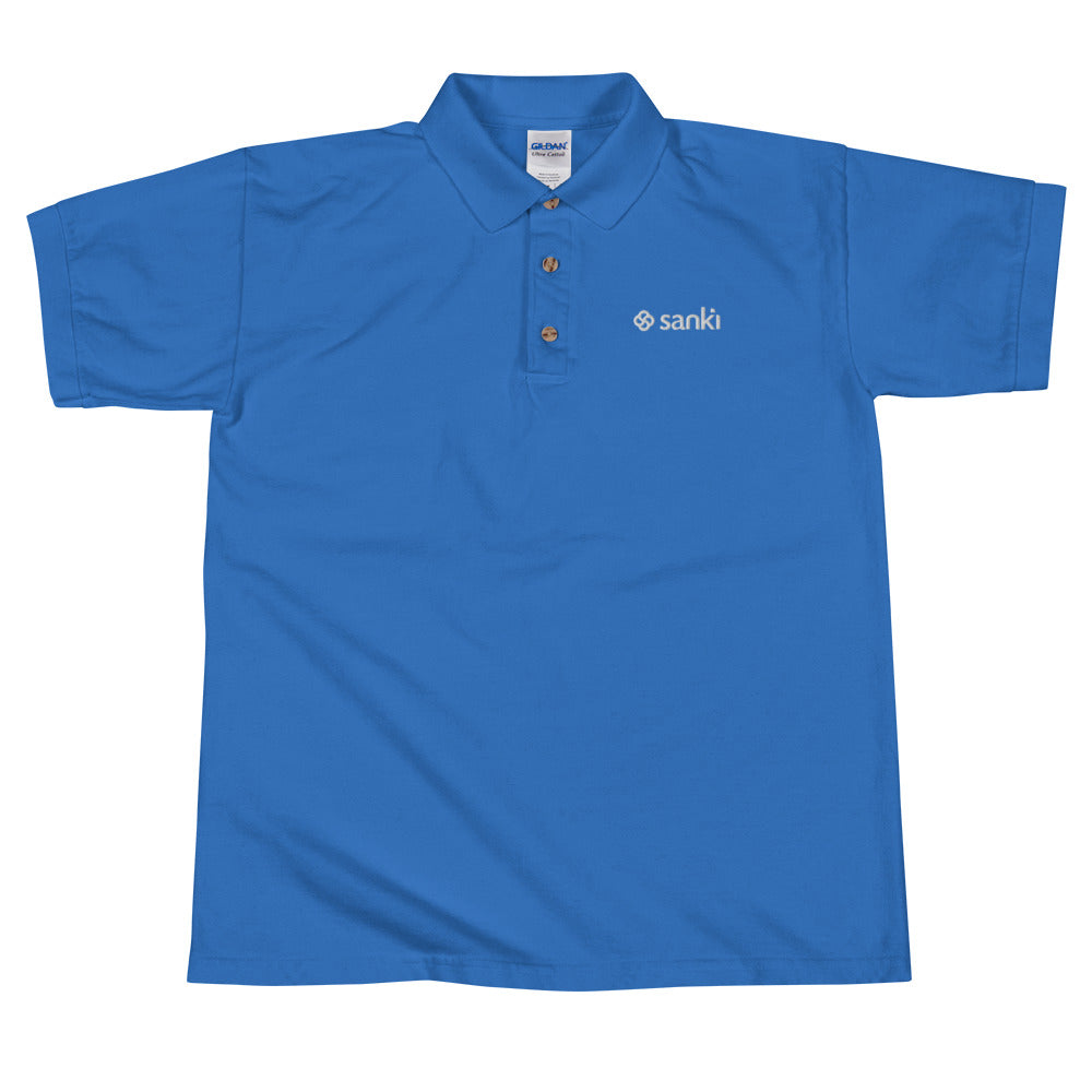 Sanki Embroidered Polo Shirt