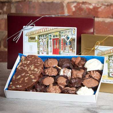 Fudge and Chocolate Sampler