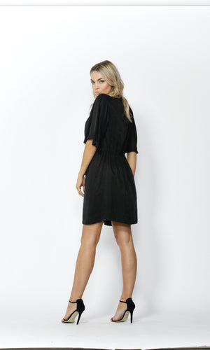MUST-HAVE TIE FRONT DRESS