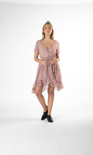 ROSIE RUFFLE DRESS