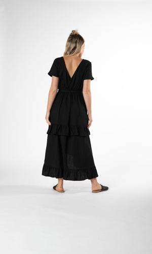 HILDA RUFFLE DRESS