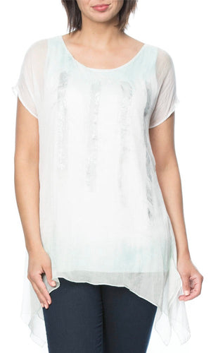 OMBRE PAINT STROKE TOP