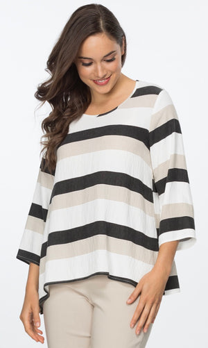 CYNTHIA STRIPE TOP