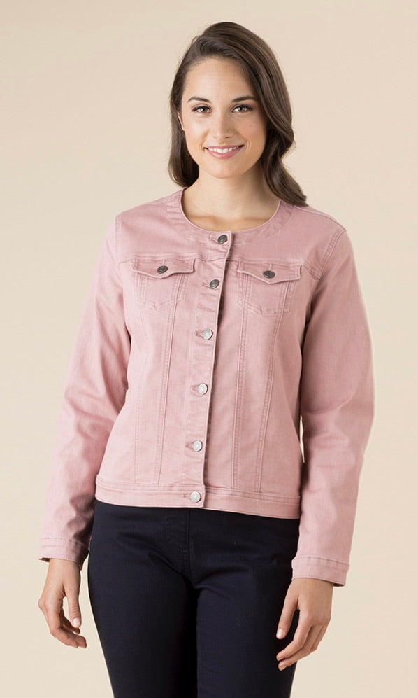 THREADZ COLLARLESS JACKET