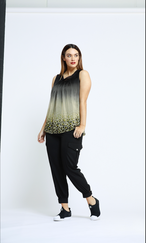 MARIGOLD ANIMAL PRINT CAMI