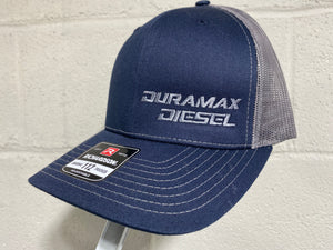 Duramax Diesel Hat (Navy Blue & Grey)