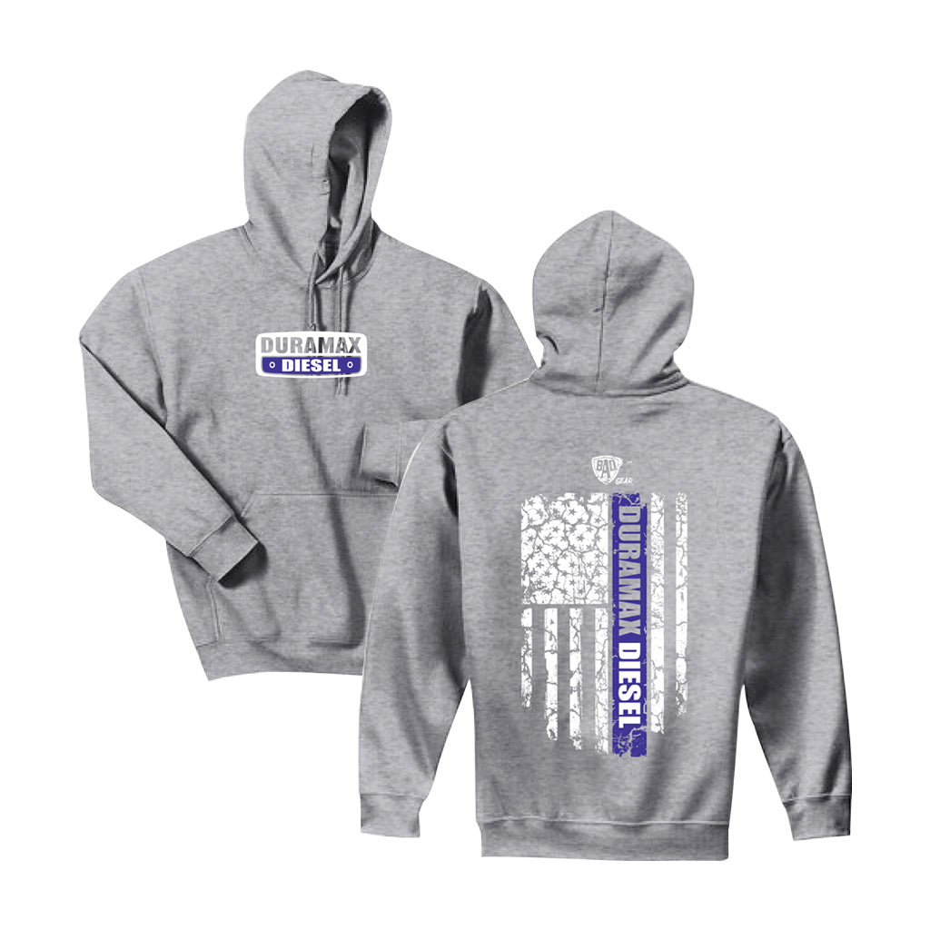 Duramax Purple Flag Hoodie (Purple)