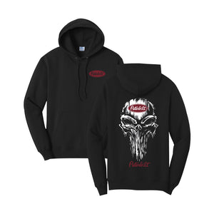 Peterbilt Punisher Hoodie (Black & Red)
