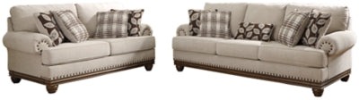Harleson Signature Design 2-Piece Living Room Set