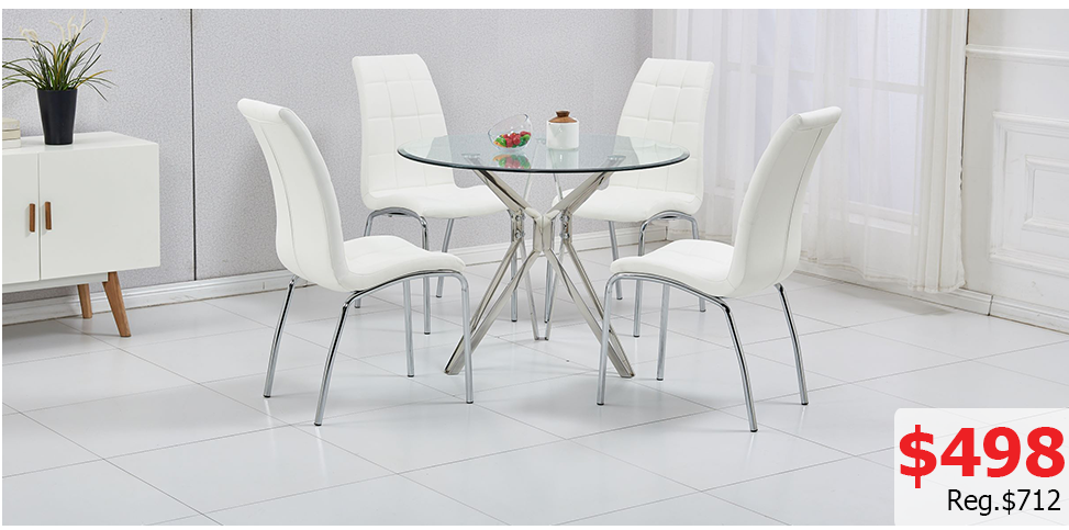Special Order #2  -   Dining Table + 4 Chairs,
