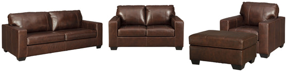 Morelos Signature Design 4-Piece Upholstery Package
