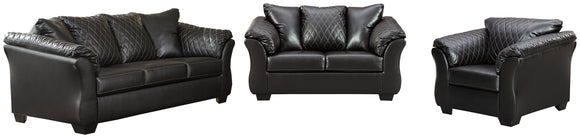 Betrillo Signature Design 4-Piece Upholstery Package