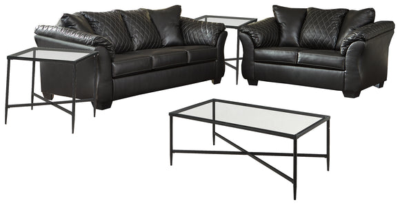 Betrillo Signature Design 5-Piece Upholstery Package