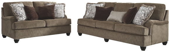 Braemar Benchcraft 2-Piece Upholstery Package