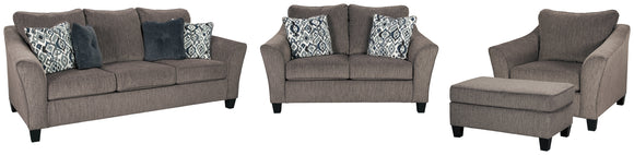 Nemoli Signature Design 4-Piece Upholstery Package