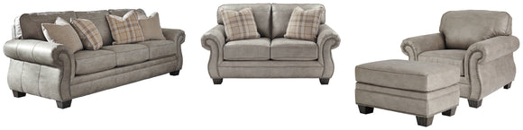 Olsberg Signature Design 4-Piece Upholstery Package