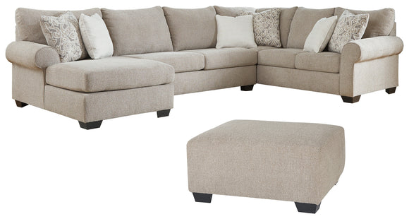 Baranello Benchcraft 4-Piece Upholstery Package
