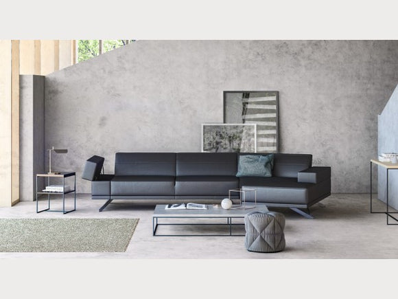 Ace Dark Grey Sectional