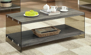 Rustic Grey Coffee Table