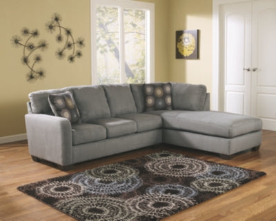 Zella Signature Design by Ashley 2-Piece Sectional with Chaise