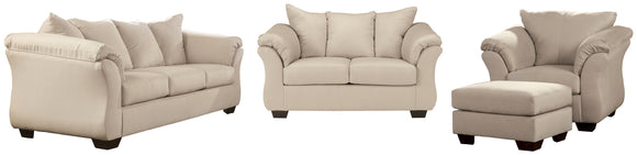 Darcy Signature Design 4-Piece Upholstery Package