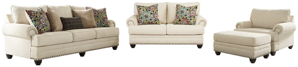 Harrietson Signature Design 4-Piece Upholstery Package