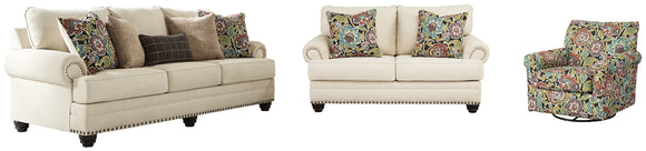 Harrietson Signature Design 3-Piece Upholstery Package