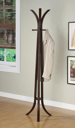 Open image in slideshow, Contemporary Cappuccino Coat Rack