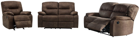 Bolzano Signature Design 3-Piece Upholstery Package