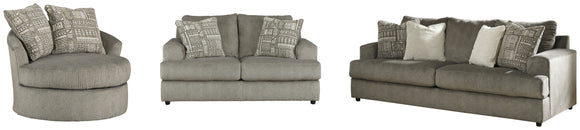 Soletren Signature Design 3-Piece Upholstery Package