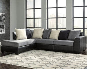 Jacurso Signature Design by Ashley 2-Piece Sectional with Chaise
