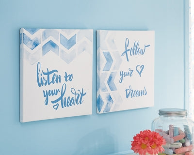 Ellis Signature Design by Ashley Wall Art Set of 2