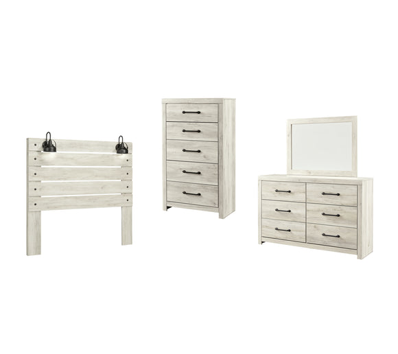 Cambeck Signature Design 4-Piece Bedroom Package