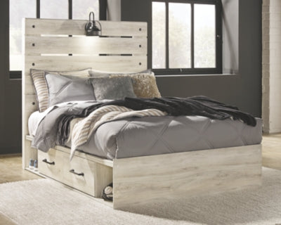 Cambeck Signature Design by Ashley Bed with 4 Storage Drawers