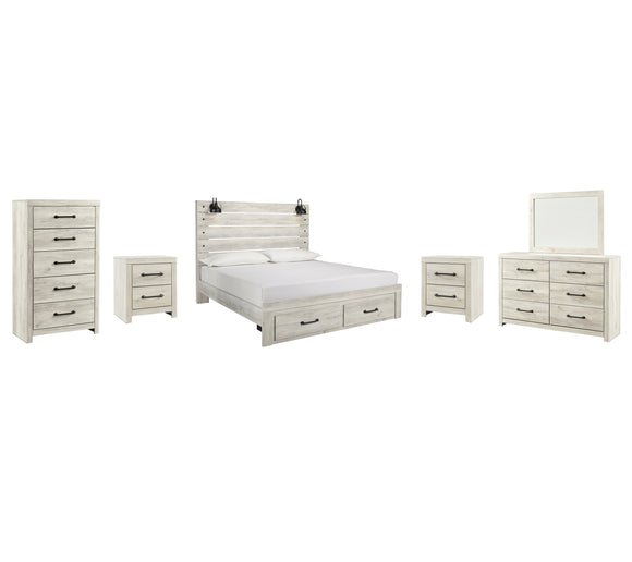 Cambeck Signature Design 8-Piece Bedroom Package