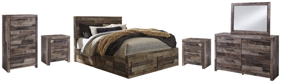 Derekson Benchcraft 8-Piece Bedroom Package