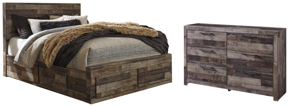 Derekson Benchcraft 4-Piece Bedroom Package