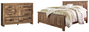 Open image in slideshow, Blaneville Signature Design 4-Piece Bedroom Package
