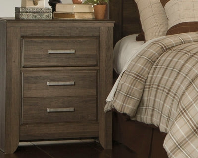 Juararo Signature Design by Ashley Two Drawer Nightstand