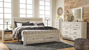 Bellaby Signature Design by Ashley Bed with 2 Storage Drawers