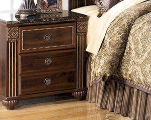 Gabriela Signature Design by Ashley Two Drawer Nightstand