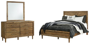 Open image in slideshow, Broshtan Signature Design 5-Piece Bedroom Set
