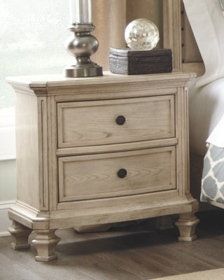 Demarlos Signature Design by Ashley Two Drawer Nightstand