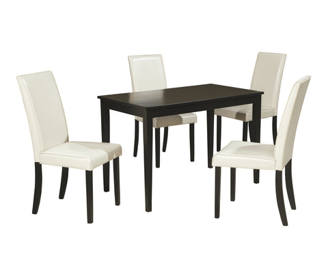 Kimonte Signature Design 5-Piece Dining Room Package