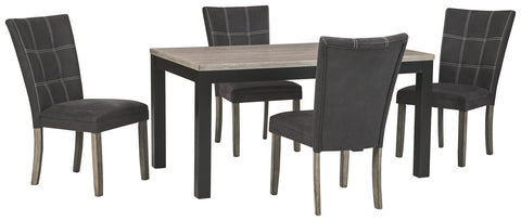 Dontally Benchcraft 5-Piece Dining Room Package