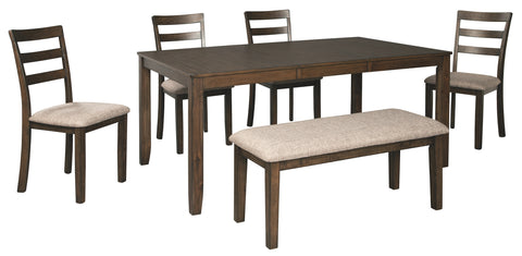 Drewing Benchcraft 6-Piece Dining Room Package