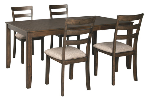Drewing Benchcraft 5-Piece Dining Room Package