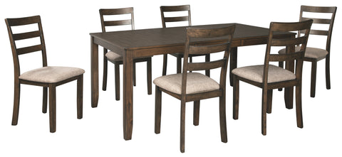 Drewing Benchcraft 7-Piece Dining Room Package